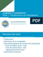 Compiladores Clase 01 - Introduccion