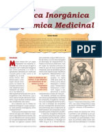 Contribuições da Química Inorgânica para a Química Medicinal