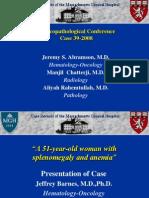 Case 39-2008 - Myeloproliferative Disorders