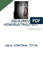 Equilibrio Hidroelectrolítico 2012