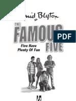 Five Have Plenty of Fun - Excerpt