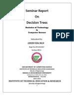 Decision Tree Report