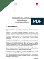 Memo Calculo Electricas Metropolitano Matellini