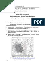 Formacje Graniczne w Okresie Wojny Polsko-bolszewickiej (BCOS 2008.2)