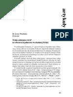 Walki oddziałów KOP na obszarach pn.-wsch. Polski (BZH [13] 2000.I)