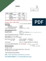 Ecentric Foundation Analysis Calc (Sheet -1) (1)