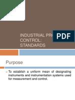 Study of Instrumentation Symbols as Per ISA Standards