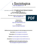 A Toolkit for Social Network Analysis