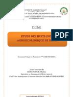 Les 8 Zone Agroecologique Du Benin