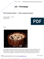 Tort-mousse tricolor – Torta mousse trecolori _ Il Menu di Angela - Homepage