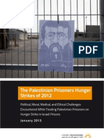 The Palestinian Prisoners Hunger Strikes of 2012
