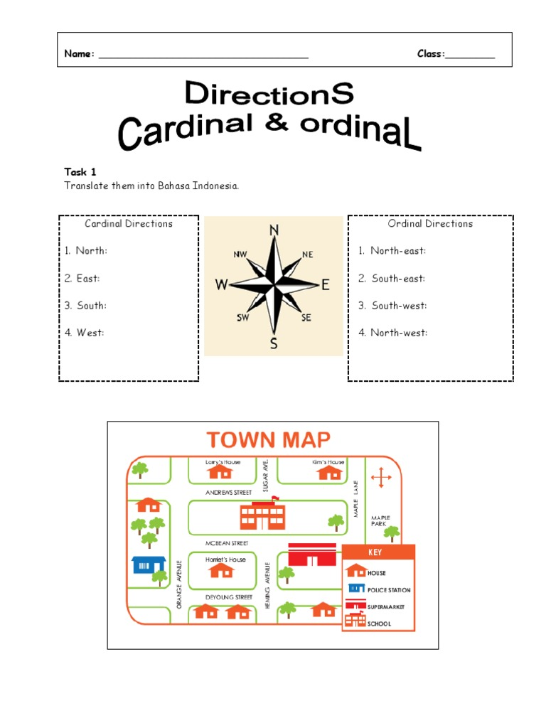Soal kelas 6 about cardinal direction bedroom room ccuart Images