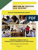 Desarrollo Del Pensamiento Matematico en Educacion Inical