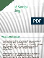 basis of social marketing