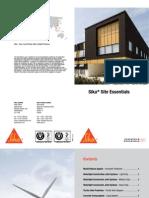 Sika Site Essentials 20pp DL