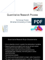 Quantitative Research Process
