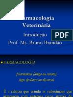 1- Introdução a Farmacologia Veterinária