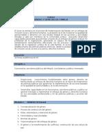 Programa Curso Género y Derecho de Familia MINJUS propuesta