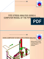 75577376 Point Pipe Stress Analysis by Computer CAESAR II