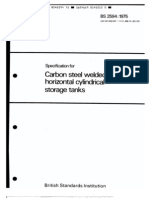 BS-2594 Carbon Welded Tanks