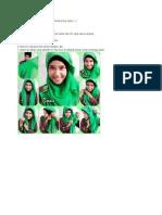 Tutorial Hijab Modern Hasil Krasi Sis Ferdina Eka Septy