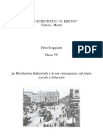 Tesina Rivoluzione Industriale Conseguenze
