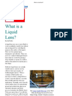 What is a Liquid Lens