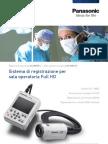 Telecamera Medicale Full HD Per registrare video in Sala Operatoria