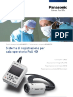 Telecamera Medicale Full HD Per registrare video in Sala Operatoria