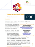Curso Community Management Funed