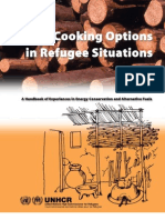 Cooking Options in Refugee Situations