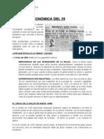 LA CRISIS ECONÓMICA DEL 29