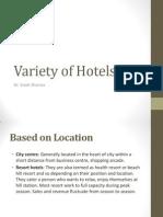 Variety of Hotels.pptx