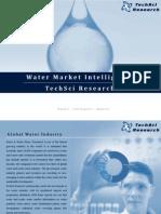 Water Market Intelligence - TechSci Research