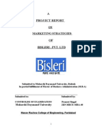 Bisleri Marketing Strategies - 77 Pages (1)