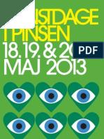 Kunstdage i Pinsen 2013 Folder