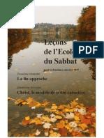 Le Ons de l Ecole Du Sabbat Pour Le Deuxi Me Semestre 2010
