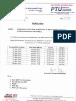 Amendment Date Sheet M13 Examination