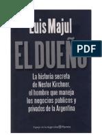 detailed look d8f85 211ef Luis Majul - El Dueño