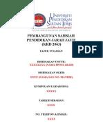 Contoh Format Kulit Assignment Dan Isi Kandungan