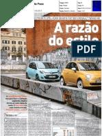 RENAULT TWINGO 1.2 16V FRENTE AO FIAT 500 1.2 E OPEL ADAM 1.2 NA AUTO FOCO