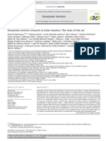 A-Ecosystem Services Research in Latin America