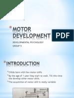 Motor Developmentpower Point