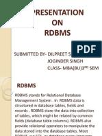 RDBMS