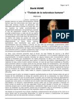 Hume - Tratado de La Naturaleza Humana Fragmento