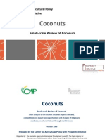 Small-Scale Review of Coconuts