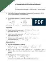 Hotsforclass X Math