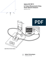In-Fixture Measurements Using VNAs