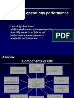 Performance_Measurements Operational Management
