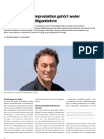 Die Zukunft der Filmproduktion - Persoenlich & Swissfilm Association 04.2013 (Gerd Leonhard)